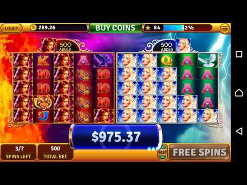 House Of Fun Slots Sinners & Saints Game Bonus