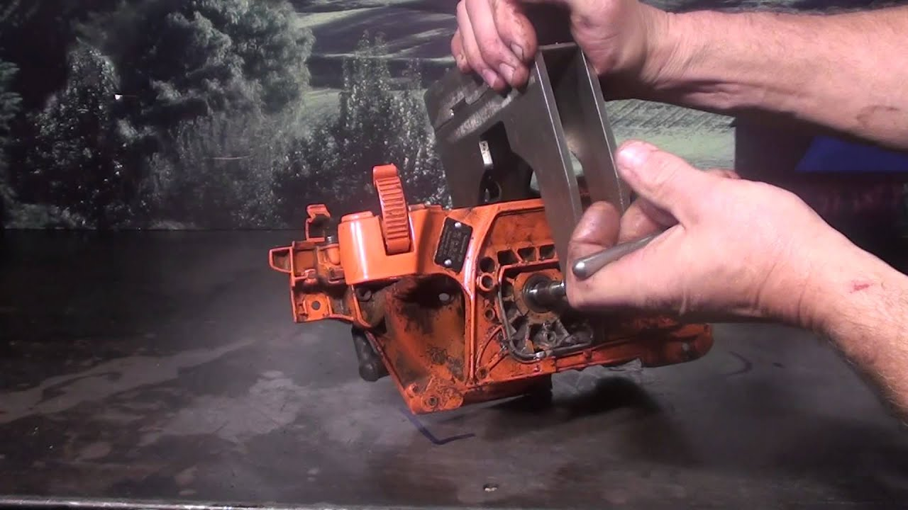 The Chainsaw Guy Shop Talk Husqvarna 359 Chainsaw Repair 5