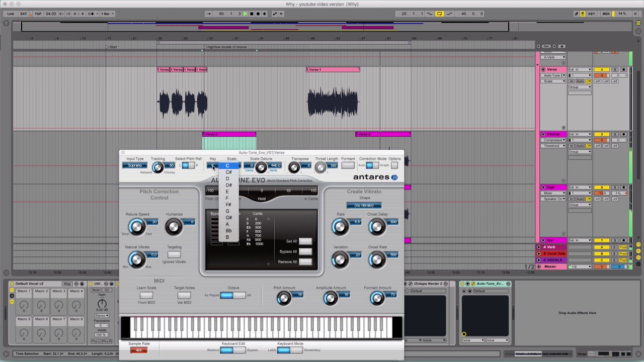 the effects of autotune on the Auto-tune efx 3 pitch-correction plug-in from antares gives you an amazingly easy and affordable way to get that great auto-tune effect, plus pitch-correction capability using auto-tune efx 3 is as easy as choosing a key and a scale, selecting an effect type, and letting this fantastic plug-in do the rest.
