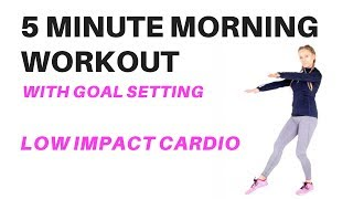 LOW IMPACT CARDIO  MORNING WORKOUT - WORKOUT FOR BEGINNERS