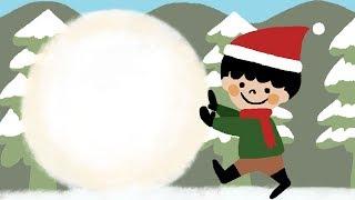 【オリジナル絵本】クリスマス絵本「ぼくのだるまサンタ」【読み聞かせ】