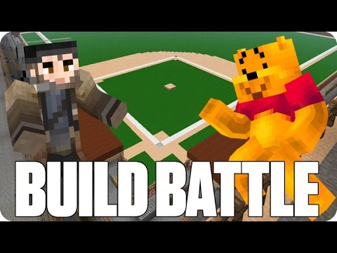 Minecraft Baseball Build Battle