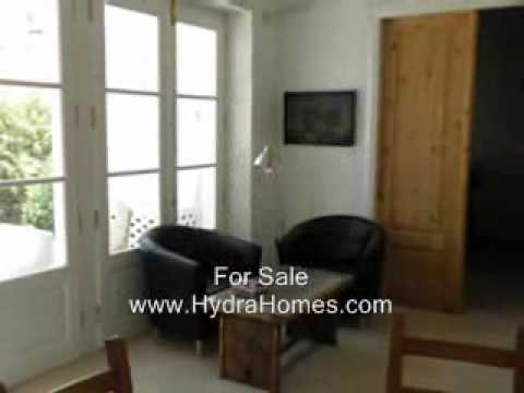 House for Sale on Hydra Island, Greece.