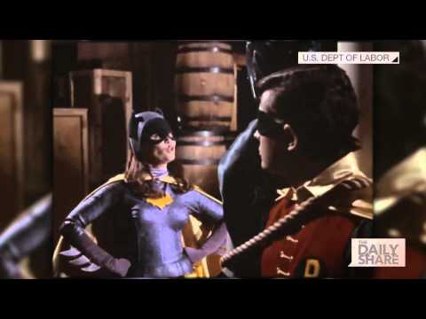Batgirl Yvonne Craig's wage equality PSA was ahead of its time