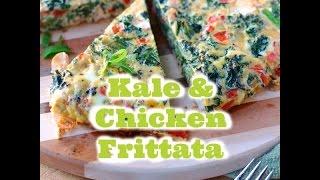 Kale & Chicken Frittata | Chef Juan Montalvo