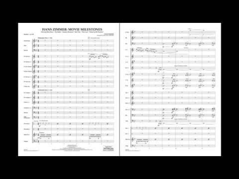 Hans Zimmer: Movie Milestones arr. Michael Brown