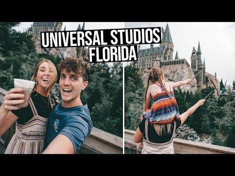UNIVERSAL STUDIOS ORLANDO   Wizarding World of HARRY POTTER (Florida vlog)