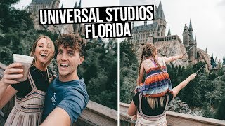 UNIVERSAL STUDIOS ORLANDO | Wizarding World of HARRY POTTER (Florida vlog)