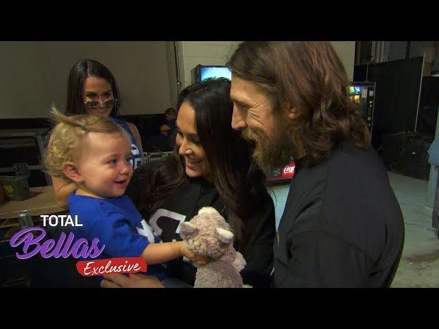 Birdie and Auntie Coco SURPRISE Brie and Bryan backstage! - Total Bellas Exclusive