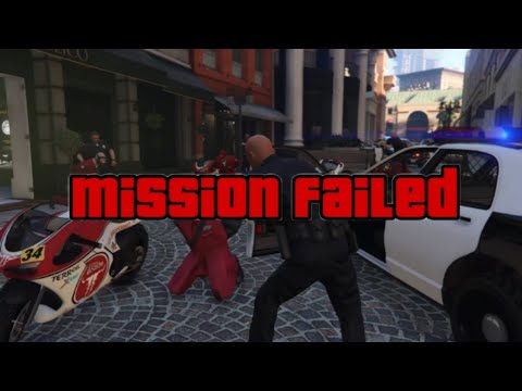 GTA 5 ways to fail mission #12 The Jewel Store Job (Smart)