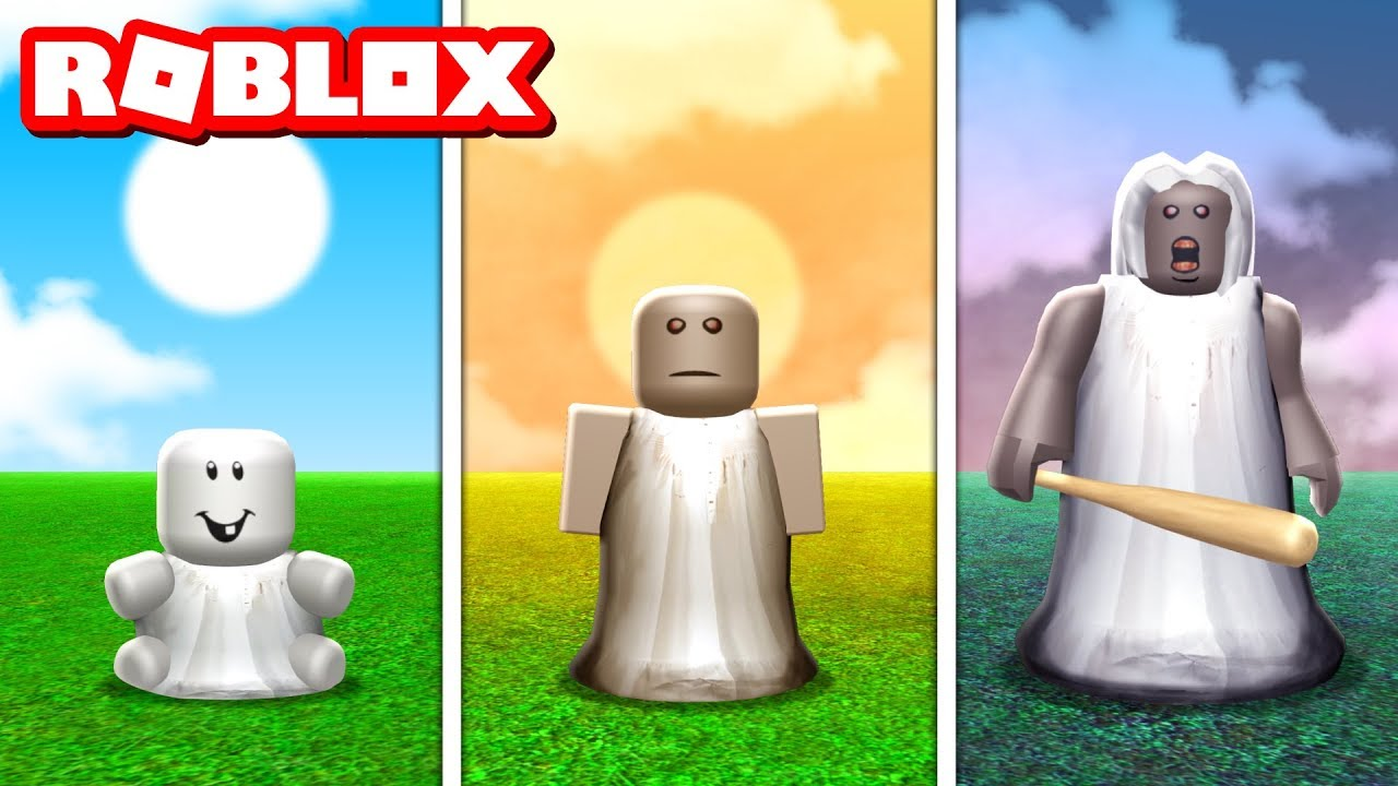 GROW INTO GRANNY IN ROBLOX