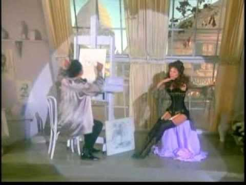 """BARBARA PARKINS as Anna Held sings"""" I JUST CAN'T MAKE MY EYES BEHAVE"""" in ZIEGFELD"""