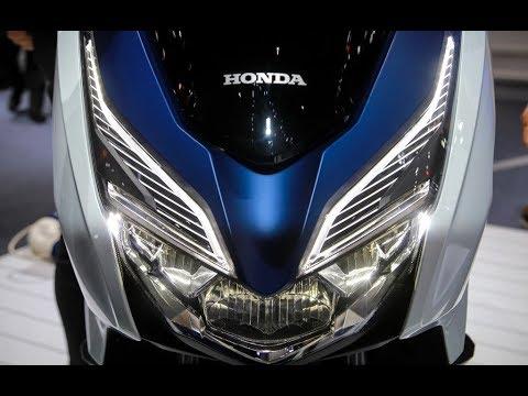 Details Scooter Honda Forza 300 2018 At Bangkok Motor Show In