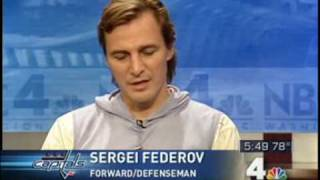 Sergei Fedorov - Future Hall of Famer Helps Spark Capitals