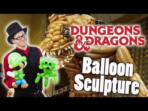 Tarrasque Balloon Sculpture