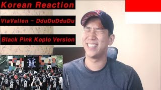 Korean Reaction  Via Vallen - Ddu Du Ddu Du   Black Pink Koplo Version   Indone