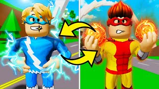 スーパーヒーローが誕生時に切り替わった! (Roblox Brookhaven RPムービー)