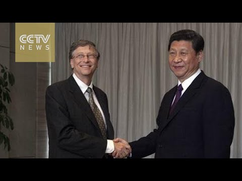 President Xi visits Microsoft, calls for secure cyberspace