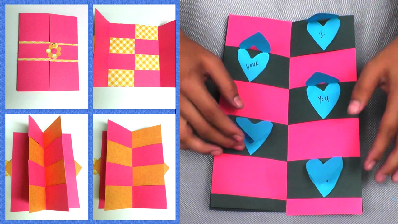 Card Making Ideas For Boyfriend Part - 28: DIY-Envelope Magic Gift Card || Make For Boyfriend/Girlfriend