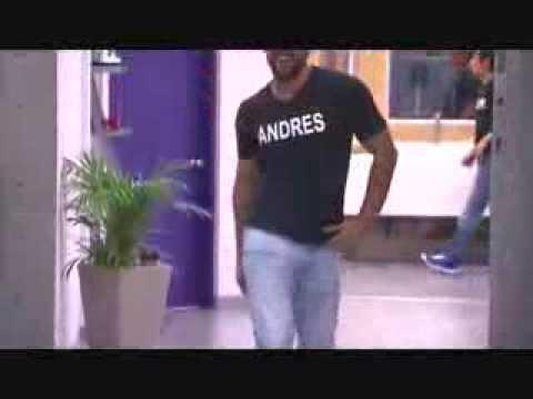 Protagonistas de nuestra tele NEXT TOP MODEL - Oscar Naranjo vs Andres Morales