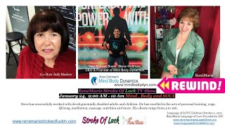 Mind , Body and SOUL - ReneMarie Stroke Of Luck TV Show - January 24, 9:00 AM - 10 Am