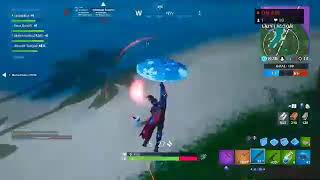 A bot playing fortnite