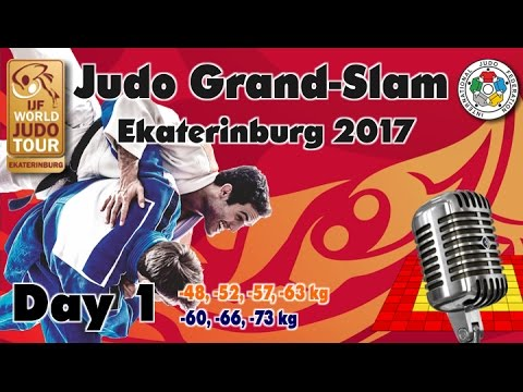 Judo Grand-Slam Ekaterinburg 2017: Day 1