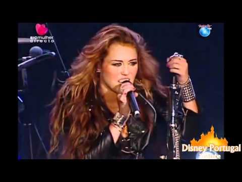 Miley Cyrus -  Fly On The Wall ,Kicking And Screaming ,I Love Rock 'n' Roll   Rock In Rio