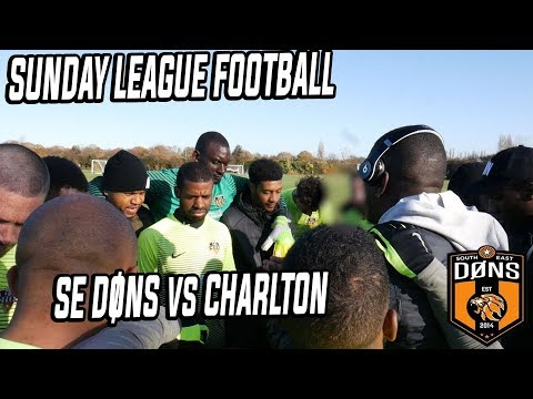 Sunday League Football: SE DONS vs CHARLTON League Match