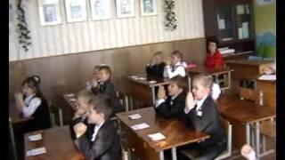 ВІДЕОРОЛИК: урок музики в 1-а класі 16.11.2010р