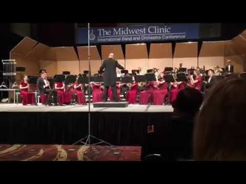 O rose of May - Marjory Stoneman Douglas Wind Symphony, Midwest 2018