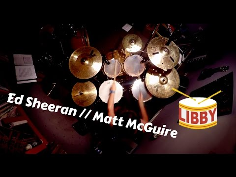 Bloodstream - Ed Sheeran DRUM COVER (Matt McGuire Cover)