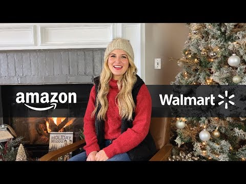 Christmas Home Decor Haul! Amazon, Walmart, TJ Maxx