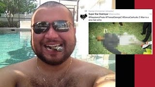 George Zimmerman Retweets Image of Trayvon Martin's Dead Body