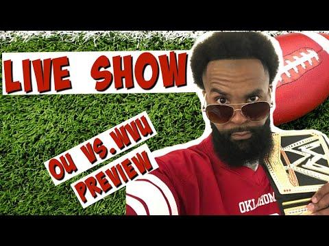 🔴 PREVIEW LIVE SHOW: No. 4 OU Sooners vs. WVU Mountaineers | Oklahoma Football