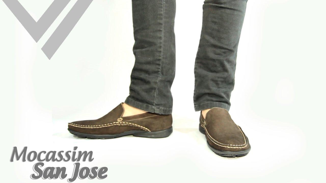 720928adb4 Mocassim Masculino em couro San Jose I Sandro Moscoloni - YouTube