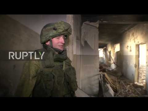 Syria: Russian sappers clear mines from east Aleppo school