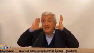 DEVA Müddessir Sûresi (32-48. Âyetler)11 Şubat2018- Prof.Dr. Mehmet Okuyan