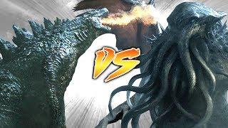 GODZILLA VS CTHULHU [Who Would Win?]