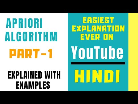 Apriori Algorithm In Data Mining And Analytics Explained With Example In Hindi