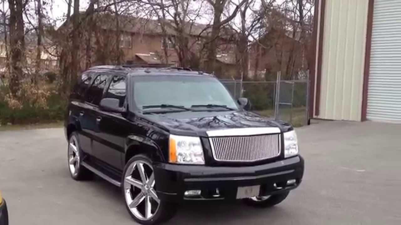 Cadillac 2002 cadillac escalade rims : 2003 Escalade 26 inch Iroc wheels Pirelli 305/30-26 tires Creative ...
