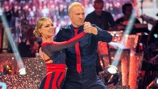 Iwan Thomas & Ola Jordan Tango to 'Keep On Running' - Strictly Come Dancing: 2015