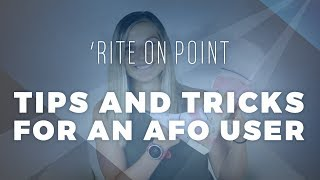 'Rite on Point: Tips and Tricks for AFO Users screenshot 5