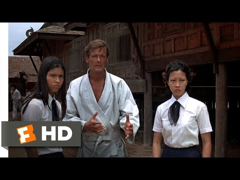 The Man with the Golden Gun 210 Movie   Ditching the Dojo 1974 HD