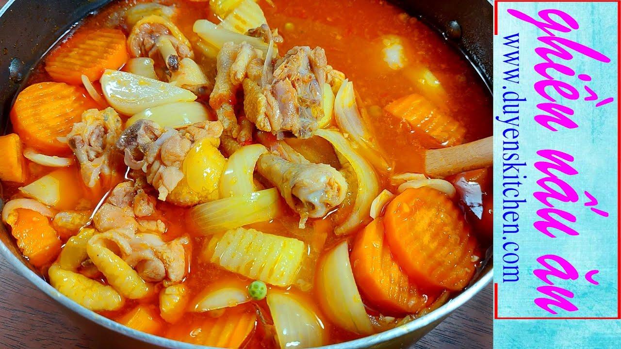 Cách Nấu Ragu Gà Không Cần Gói Gia Vị Vẫn Lên Màu Đẹp By Duyen's Kitchen | Ghiền nấu ăn | Lagu Gà