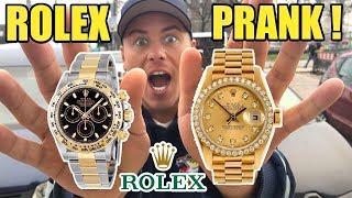 20.000€ ROLEX UHR GEKLAUT 😖 PRANK !!!