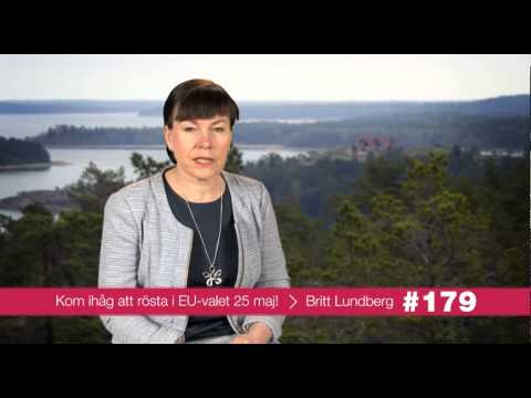 Britt Lundberg - din röst i EU