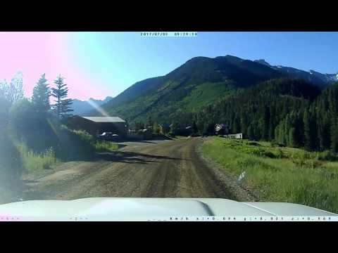 Telluride to Silverton via Ophir Pass