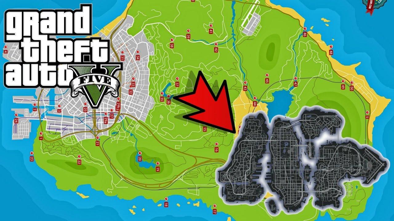 LIBERTY CITY (MAP GTA IV) ARRIVE SUR GTA 5 (MAP EXTENSION)