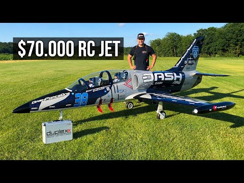 $70,000 RC Airplane? L-39C XXXL by Tomahawk Aviation   Mario Walter